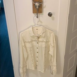 NWT FREE PPL blouse small